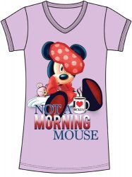 Disney Minnie Mouse Not A Morning Mouse Nightshirt
