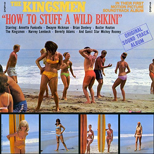 Image 0 of How To Stuff A Wild Bikini CD  Excellent Condition