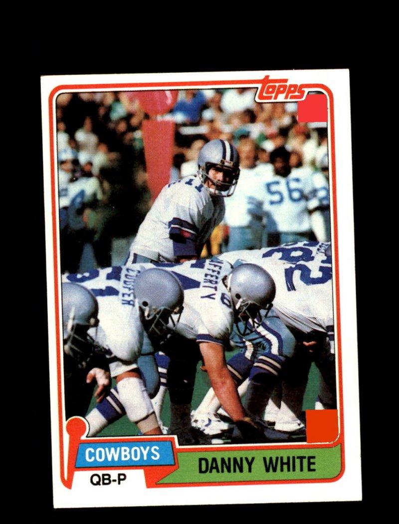 Danny White  1981 Topps