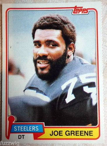 Image 0 of Joe Greene  1981 Topps