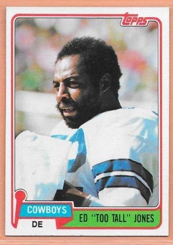 Image 0 of Ed Too Tall Jones  1981 Topps  Dallas Cowboys