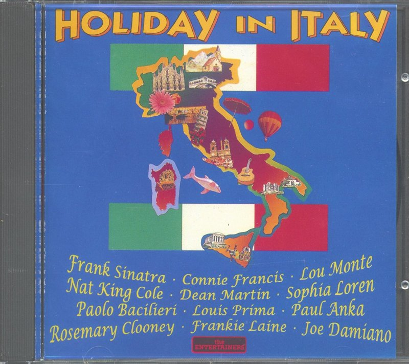 Image 0 of Holiday In Italy CD By Various Artists