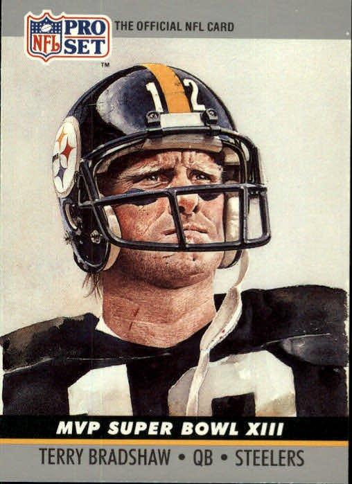 Image 0 of Terry Bradshaw MVP Super Bowl XIII  1990 Pro