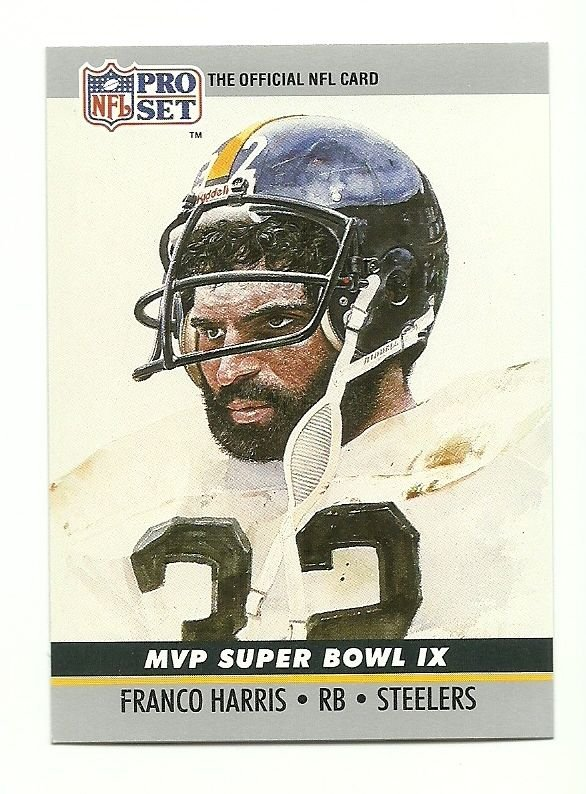 Franco Harris MVP Super Bowl IX 1990 Pro