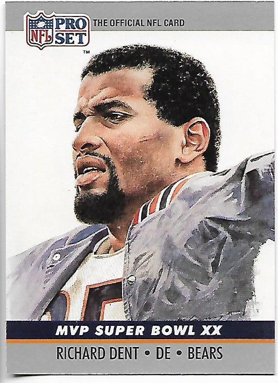 Image 0 of Richard Dent MVP Super Bowl XX 1990 Pro