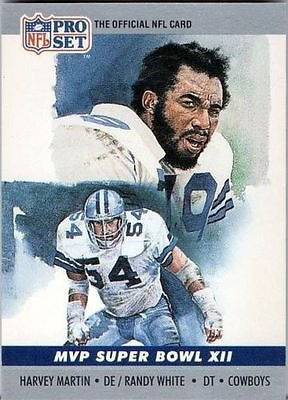 Image 0 of Harvey Martin 1990 Pro Card MVP Super Bowl XII