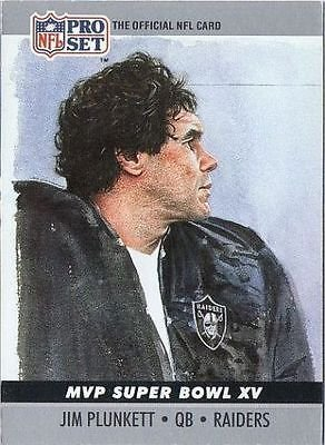 Image 0 of Jim Plunkett MVP Super Bowl XV 1990 Pro