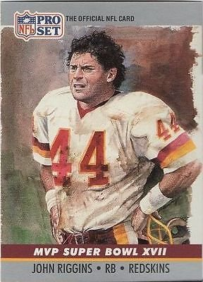 Image 0 of John Riggins 1990 Super Bowl MVP XVII