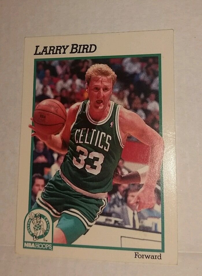 Image 0 of Larry Bird 1991-1992 NBA Hoops
