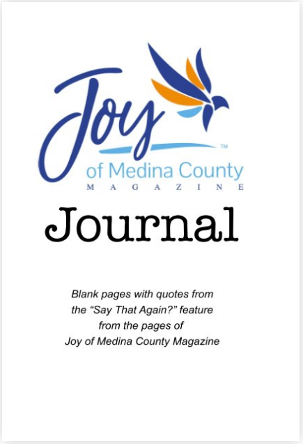 Joy of Medina County Magazine Journal