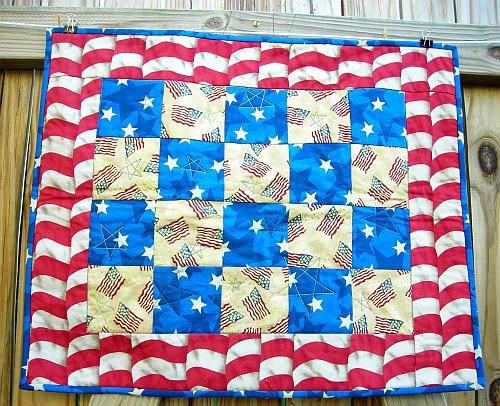Image 0 of USA Patriotic Quilt