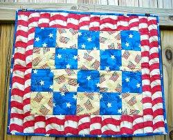 USA Patriotic Quilt