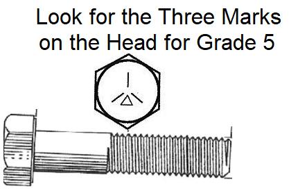 1/4 X 1 GRADE 5 COARSE