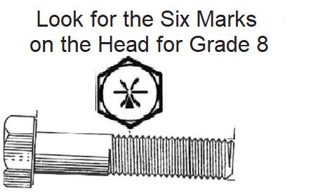 1/4 X 1/2  GRADE 8 COARSE
