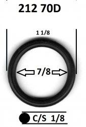 212 70D ORING 70 DURO O-RING 7/8 X 1-1/8 X 1/8
