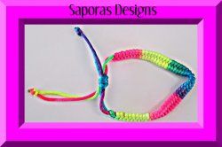 Handmade Colorful Braided Rope Bracelet Unisex Fits Most Wrist