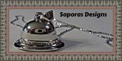 18KRP Hat Design Necklace