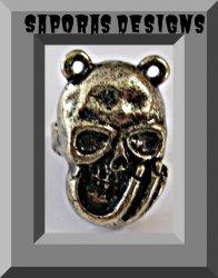 Antique Demon / Monster Design Ring Size 5 & Adjustable To Fit Unisex