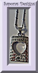 18KRP Forever Heart Design Necklace
