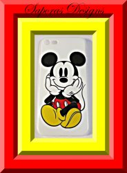Disney Mickey Mouse Design Iphone 7 Silicone Back Phone Case