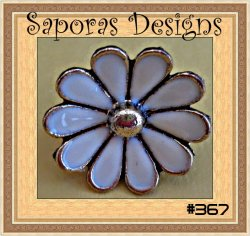 Daisy Design Antique Ring Size 6 & Adjustable To Fit Most Fingers