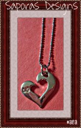 18KRP Heart Design Necklace