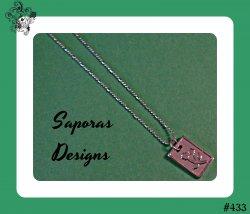 18KRP Flower Design Necklace