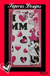 Minnie Mouse Disney Design Iphone 7 Plus Silicone Case