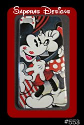 Minnie & Mickey Mouse Design Iphone 7 Plus Silicone Case