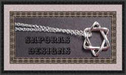 925 Sterling Silver 6 Point Star Necklace Unisex Biker Gothic Punk Rock Style