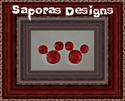 Disney Mickey Mouse Design Red Crystal Stud Earrings Silver Tone Finish