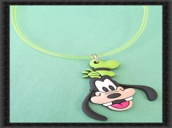 Disney Goofy Design Necklace Colorful Unisex