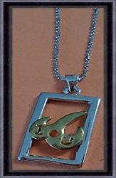 18KRP I Love You Design Necklace Unisex