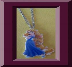 Disney Rapunzel Tangled Movie Design Necklace