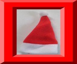Santa Claus Design Handmade Baby Doll Hat