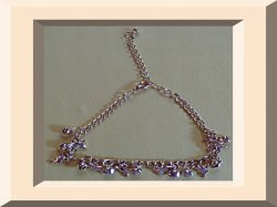 Gold Tone Dolphin With Bells Design Anklet