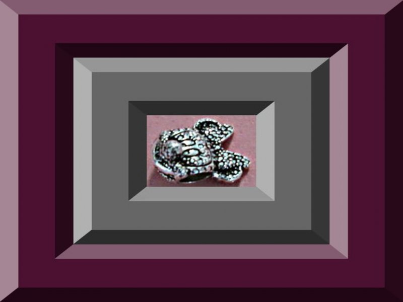 Image 0 of Tibetan Silver Minnie Mouse Disney Design Charm For Bracelet