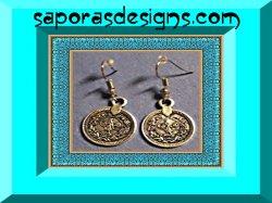 Tibetan Silver Vintage Dangle Earrings