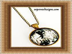 Antique Justin Bieber Design Necklace Unisex