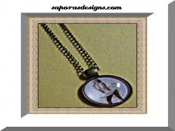 Antique Design Marilyn Monroe Necklace
