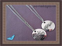Pretty Little Liars Got A Secret Can You Keep It -A Necklaces (2) Silver Tone