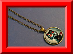 Antique Super Hero Ant-Man Inspired Design Necklace Unisex