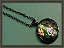 Black Tone Super Hero The Avengers Inspired Design Necklace Unisex