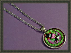 Silver Tone My Little Pony Inspired Design Necklace For Little Girls