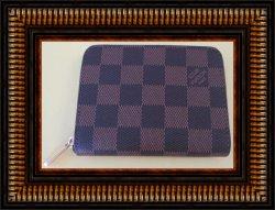 Louis Vuitton Zippy Coin Purse Damier Ebene N63070
