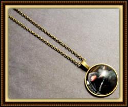 Fantastic Beasts Niffler Design Necklace Unisex Antique Bronze In Color