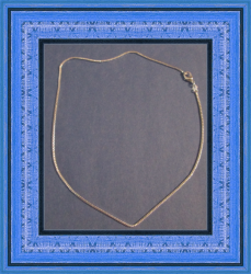 925 Sterling Silver Necklace 16 Inches Long For Girls