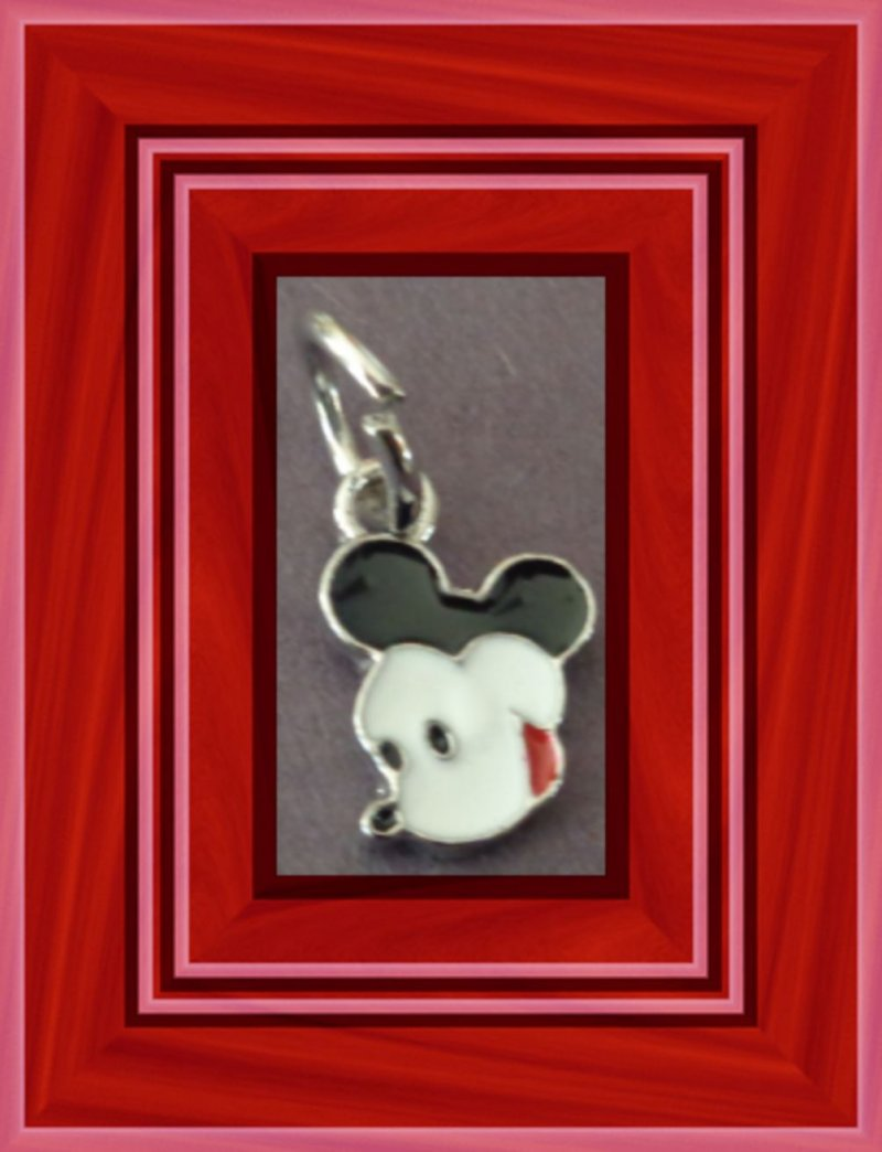 Image 0 of Tibetan Silver Mickey Mouse Charm For Necklace Bracelet Or Anklet