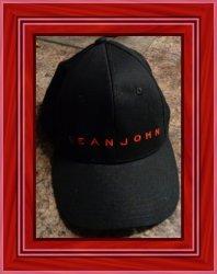 Black And Red Sean John Ajustable Cap Unisex