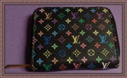 Louis Vuitton Zippy Coin Purse Monogram Multicolored